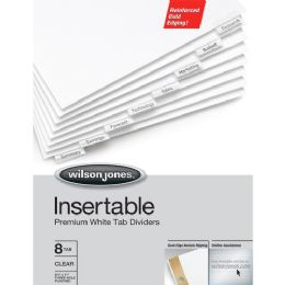 Acco Wilson Jones Gold Pro Insertable Tab Index - Office Supplies