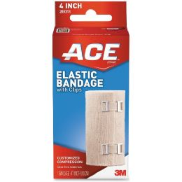 Ace Elastic Bandage With Clips - Office Supplies