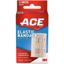 216 Units of Ace Elastic Bandage With Clips - Office Supplies