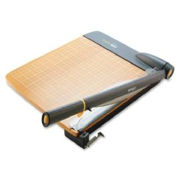 8 Units of Acme United Trimair Wood Guillotine Paper Trimmer - Paper