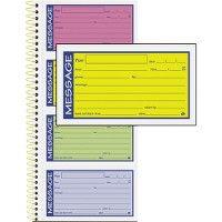 Adams 2-Part Carbonless Phone Message Books - Office Supplies