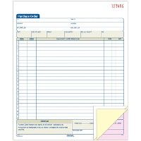 Adams 3-Part Carbonless Purchase Order Book - Order book