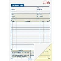 Adams Carbonless Purchase Order Statement - Office Supplies