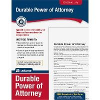 48 Units of Adams General Power Of Attorney Forms Kit - Office Supplies