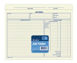 30 Units of Adams Job Folder, 20/pk - Folders & Portfolios