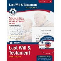 24 Units of Adams Last Will/testament Kit - Office Supplies