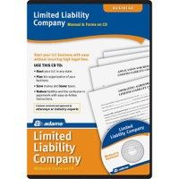 6 Units of Adams Limited Liability Companies Software Set - Office Supplies