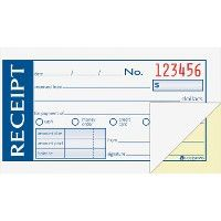 Adams Money/rent Receipt Books - Receipt book