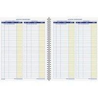 Adams Monthly Bookkeeping Record Book - Record book