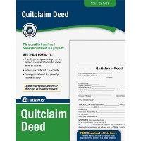 48 Units of Adams Quitclaim Deed Set - Office Supplies
