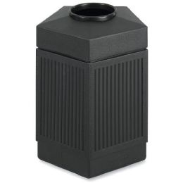 Safco Trophy Collection Indoor/outdoor Receptacle - Janitorial Supplies