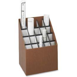 Safco Upright Roll Storage File - File Folders & Wallets