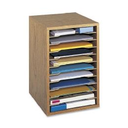 Safco Vertical Desktop Organizer - Office Supplies