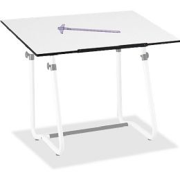 6 Units of Safco Vista Drawing Table Base - Office Supplies