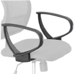 Safco Vue Extended Height Mesh Chair Loop Arms - Office Chairs