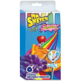 162 Units of Mr. Sketch Scented Stix Washable Markers - Markers
