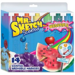 Mr. Sketch Scented Washable Markers - Markers