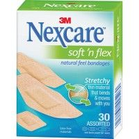 Nexcare™ Soft 'n Flex Bandages, Assorted - Office Supplies