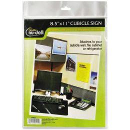 NU-Dell Cubicle Sign Holder - Sign