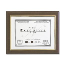 NU-Dell Insertable Executive Award Plaque - Office Supplies