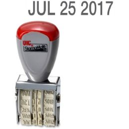 460 Units of Oic 12-Year Month, Day And Year Traditional Date Stamp - Office Supplies