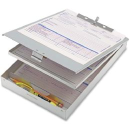 Oic Aluminum Double Storage Form Holder - Office Supplies