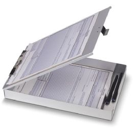 Oic Aluminum Storage Clipboard - Office Clipboards