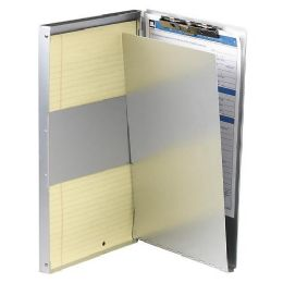 36 Units of Oic Aluminum Storage Clipboard - Office Clipboards
