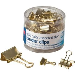 Oic Assorted Size Binder Clips - Binders