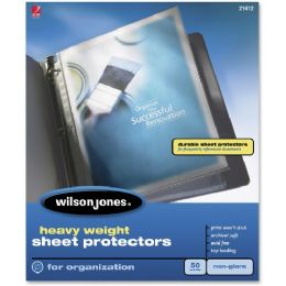 20 Units of Wilson Jones 21412 Heavy Weight Sheet Protector - Sheet protector