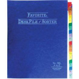 24 Units of Wilson Jones A-Z Favorite Desk File Sorter - File Folders & Wallets