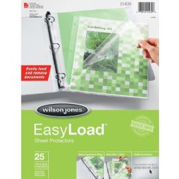 30 Units of Wilson Jones EasyLoad Sheet Protector - Sheet protector
