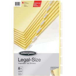 Wilson Jones Gold Line Insertable Indexes - Office Supplies