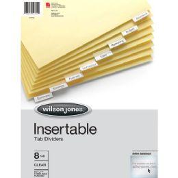 Wilson Jones Insertable Tab Indexes - Office Supplies
