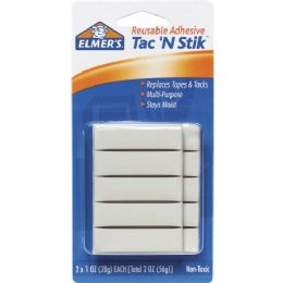 576 Units of Elmer's Tac 'N Stik Adhesive Putty - School and Office Supply Gear
