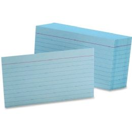 5 Units of Esselte Printable Index Card - Office Supplies