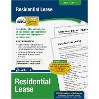 48 Units of Adams Residential Lease Form Set - Office Supplies