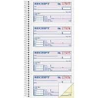 Adams Spiral 2-part Money/Rent Receipt Book - Receipt book