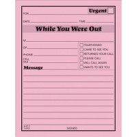 Adams While You Were Out Message Pad - Note Books & Writing Pads