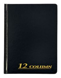 "6 Units of Adams Account Book, 12 Column, 7"" X 9-1/4"", 80 Pages - Office Supplies"