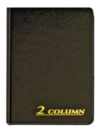 """6 Units of Adams Account Book, 2 Column, 7"""" X 9-1/4"""", 80 Pages - Office Supplies"""