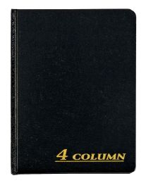 """6 Units of Adams Account Book, 4 Column, 7"""" X 9-1/4"""", 80 Pages - Office Supplies"""