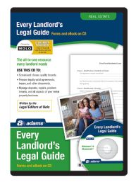 Adams Every Landlord's Legal Guide, For Pc/mac, Traditional Disc - Office Supplies