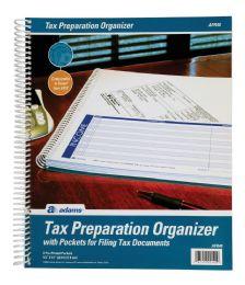 "12 Units of Adams Tax Preparation Organizer, Spiral, 9-1/2"" X 11-1/2"" - Organizer"
