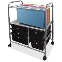 Advantus 5-Drawer Storage File Cart - File Folders & Wallets