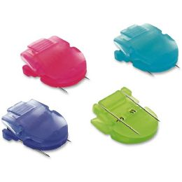 Advantus Brightly Colored Panel Wall Clip - Wall clip