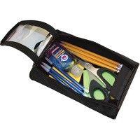 Advantus Carrying Case For Pencil, Scissors, Pen, Notepad, Hand Sanitizer - Black - Office Supplies