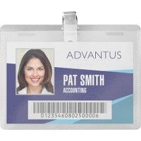 Advantus Diy CliP-Style Name Badge Kit - Office Supplies