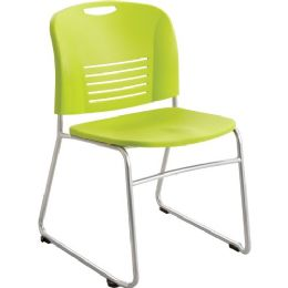 Safco Vy Sled Base Stack Chairs - Office Chairs