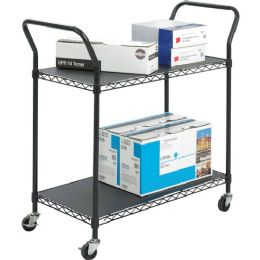 Safco Wire Utility Cart - Office Supplies